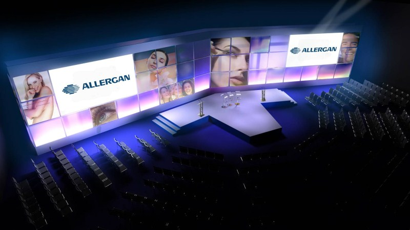 Conference/event staging and lighting planning
