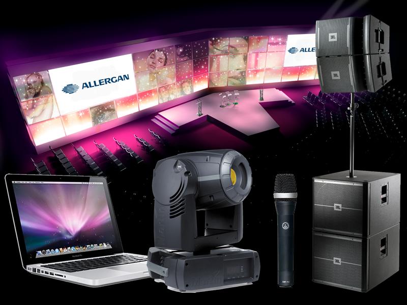 AV Equipment Hire